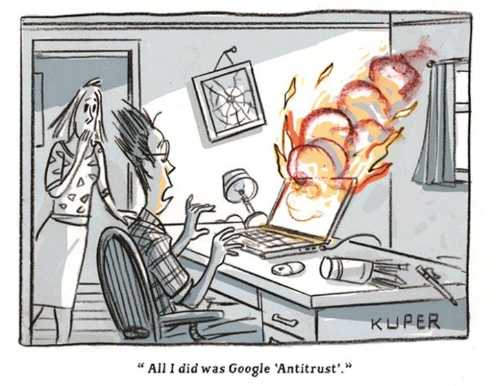 All I did was Google 'Antitrust'