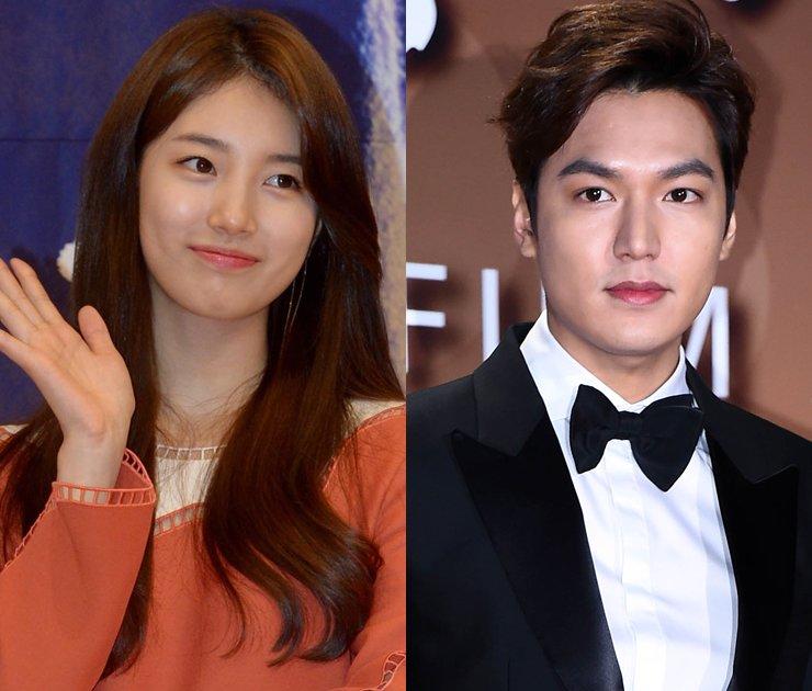 Suzy, Lee Min-ho / Korea Times file