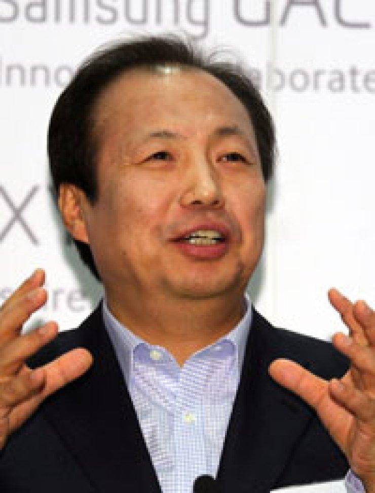 Shin Jong-kyunSamsung co-CEOTim CookApple CEO
