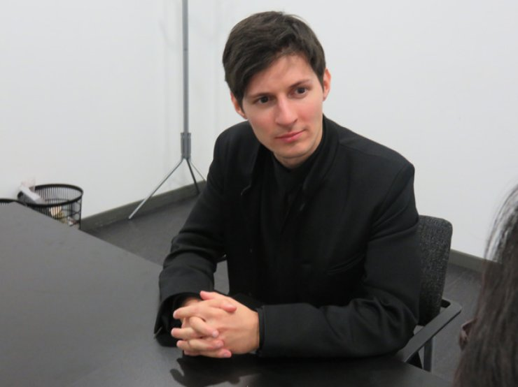 Pavel Durov, the founder and CEO of Telegram