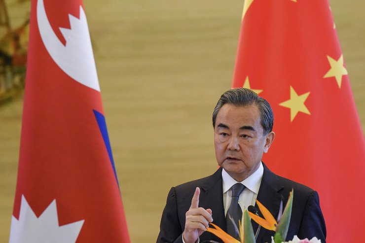 China's Foreign Minister Wang Yi denounced South Korea on Sep. 7 for deploying the United States military's Terminal High Altitude Aerial Defense system in Seongju, North Gyeongsang Province. / Korea Times file