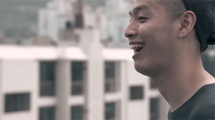 E-SENS from 'Back In Time' music video / Courtesy of Naver blog