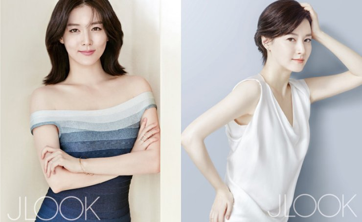 Lee Young-ae from 'JLOOK' magazine / Yonhap