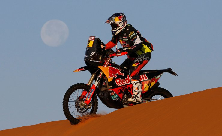 Rallying - Dakar Rally - Stage 7 - Riyadh to Wadi Al Dawasir - Riyadh, Saudi Arabia - January 12, 2020  Red Bull KTM Factory Team's Matthias Walkner during stage 7. Reuters
