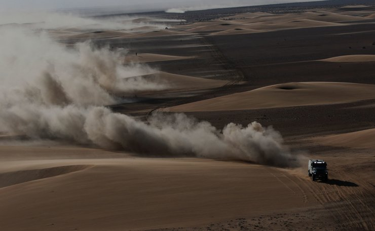Rallying - Dakar Rally - Stage 9 - Wadi Al Dawasir to Haradh - Wadi Al Dawasir, Saudi Arabia - January 14, 2020  General view during stage 9 . Reuters