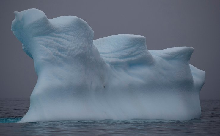 An iceberg floats near Two Hummock Island, Antarctica, February 2, 2020. Picture taken February 2, 2020. Reuters