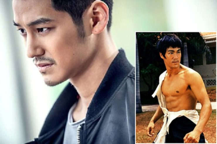 Kim Beom from tvN's 'Hide your Identity' and the late Bruce Lee (inbox)