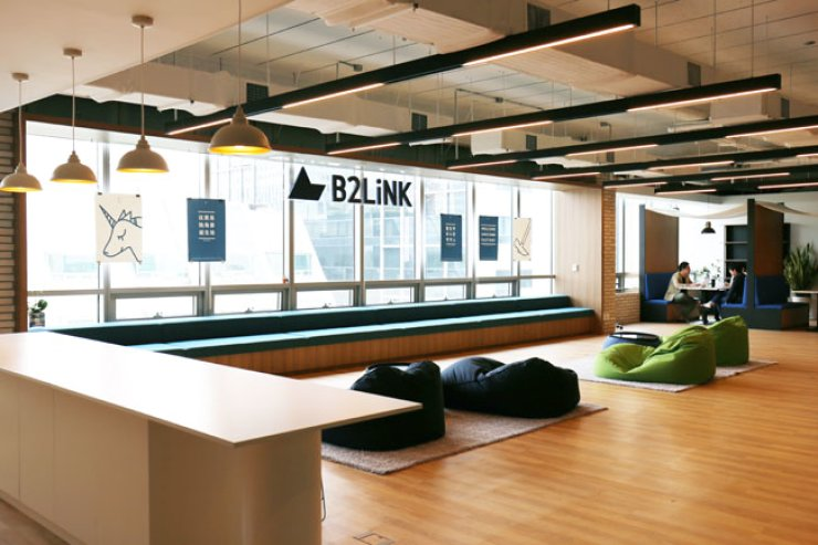 An inside view of B2LiNK office in Gangnam / Courtesy of B2LiNK
