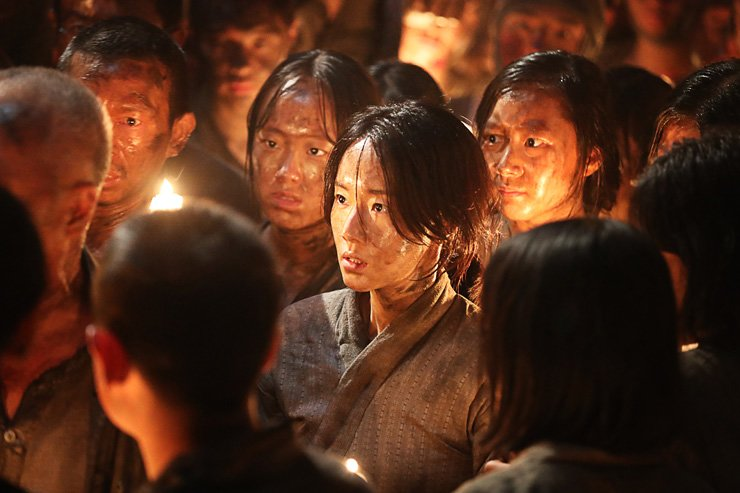 A scene from the movie 'The Battleship Island' / Courtesy of 1st Look