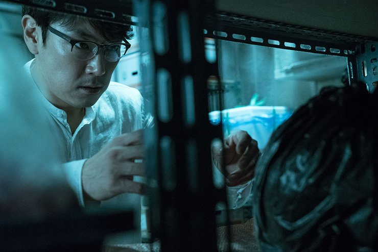 Actor Cho Jin-woong in the scene of 'Bluebeard' / Courtesy of Lotte Entertainment