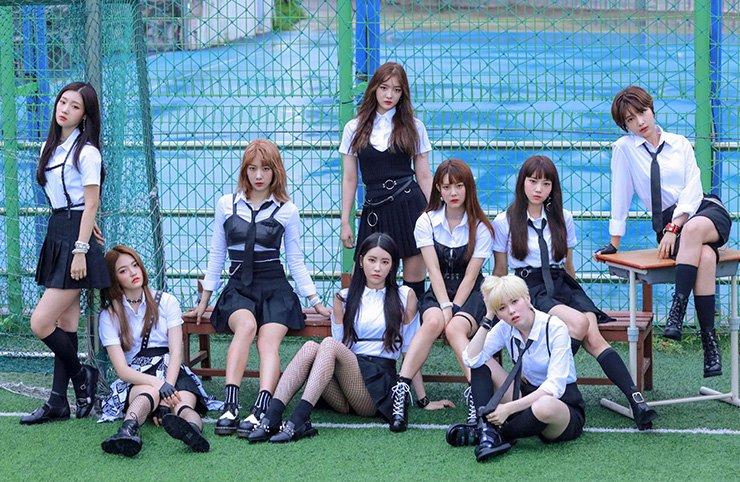 K-pop girl band DIA will release third mini-album 'Love Generation' on Aug. 22. / Courtesy of MBK Entertainment