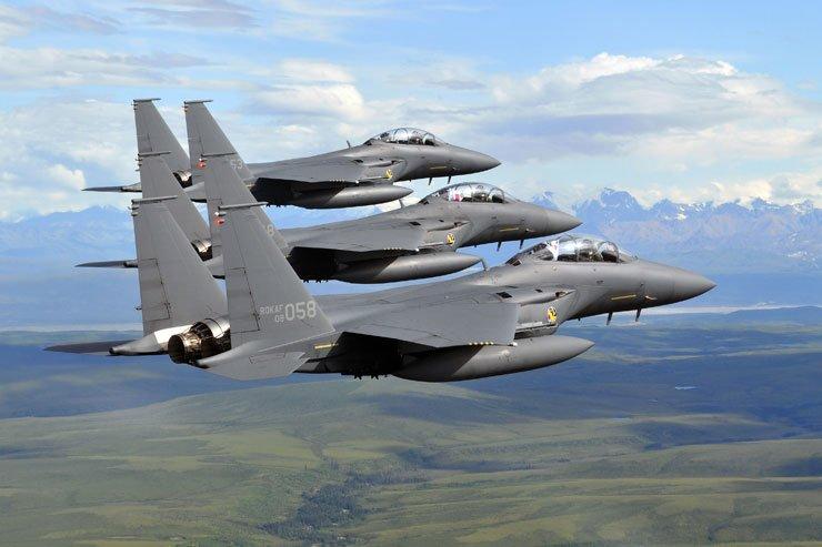 South Korean F-15K fighter jets / Korea Times files