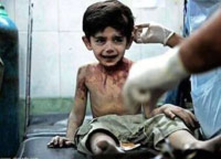 'I'm gonna tell God everything,' said the three year old victim of Syrian war before parting the world. / Courtesy of World Observer Online