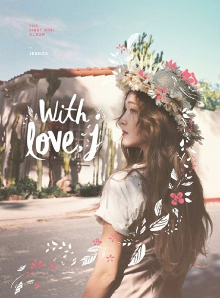 Jessica Jung's first solo album 'With Love, J' / Courtesy of Coridel Entertainment