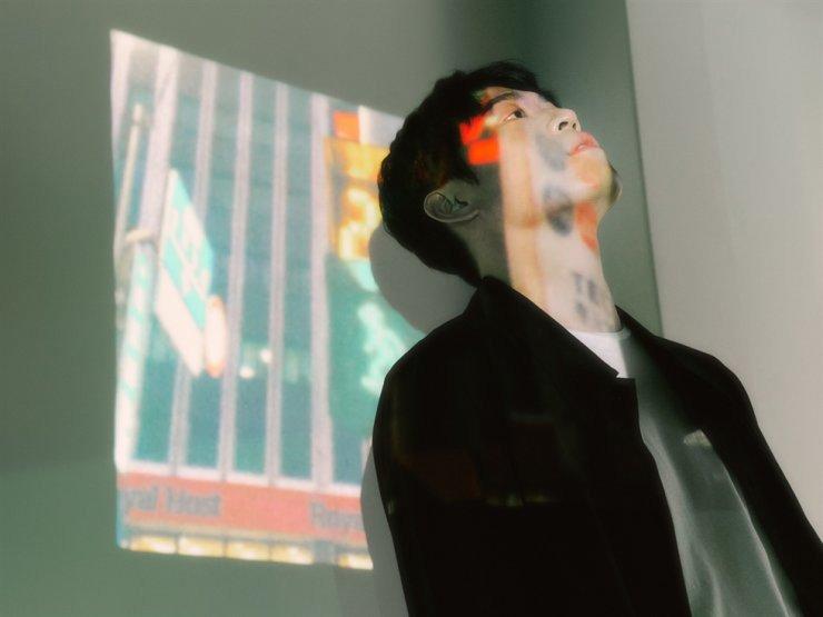 The teaser for John Park's upcoming mini-album, 'outbox' / Courtesy of Music Farm