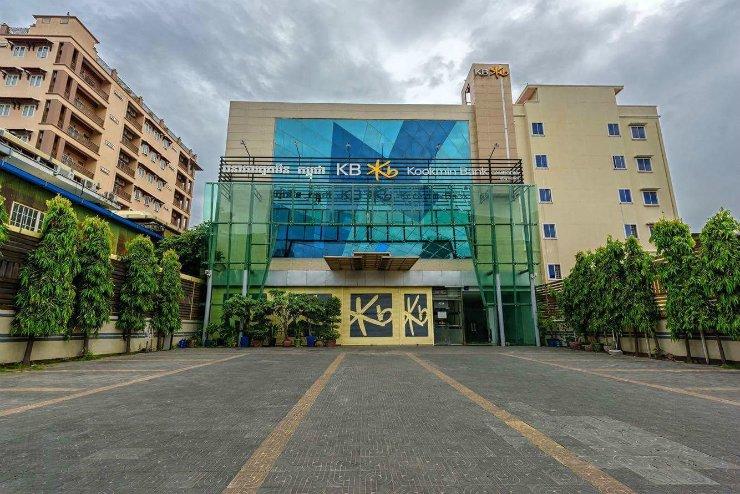 KB Kookmin Cambodia headquarters in the Doun Penh District, Phnom Penh / Courtesy of KB Kookmin Bank