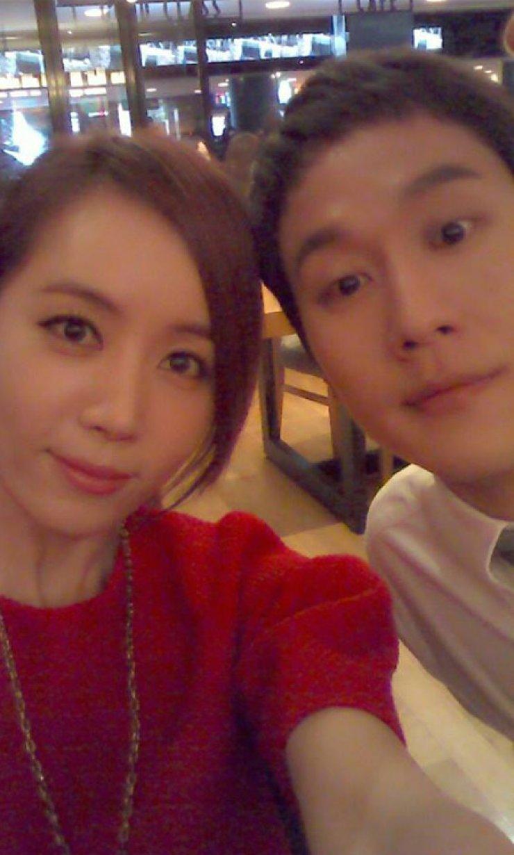 Jung Woo, Kim Yu-mi / Screen capture from Facebook