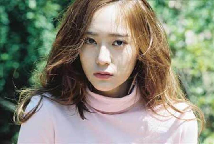 Krystal of K-pop girl band f(x) will be Gap model in Chinese-speaking countries. / Yonhap