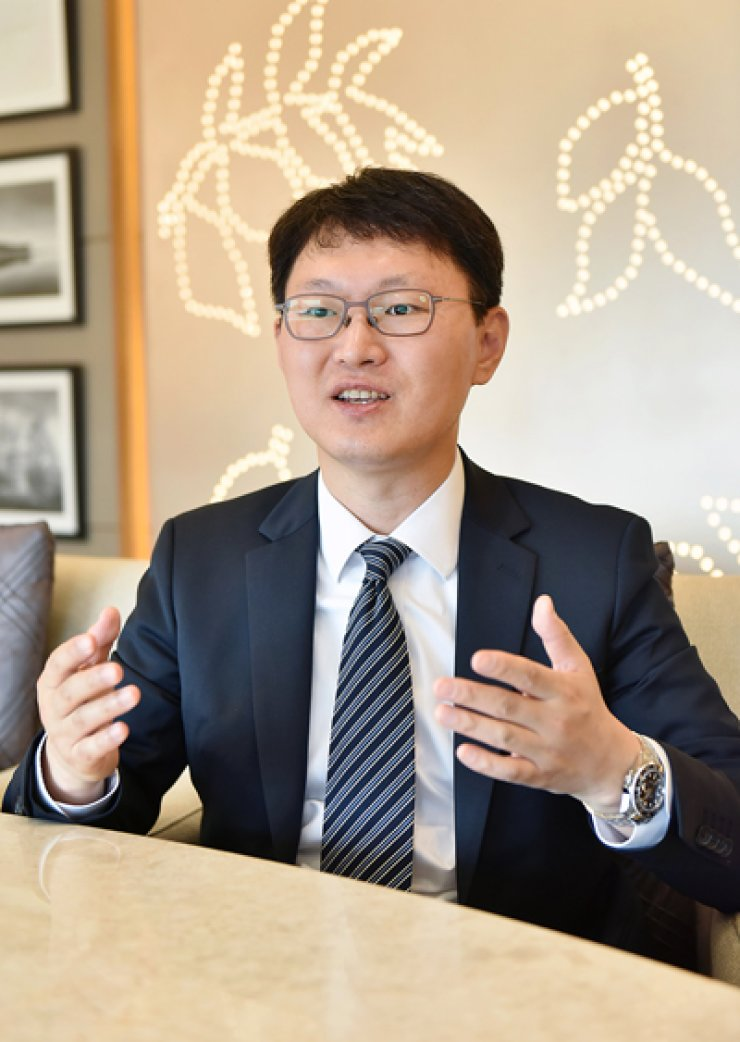 Chung Kyu-shik, senior manager of Kyobo Life Insurance's fintech taskforce / Courtesy of Kyobo Life