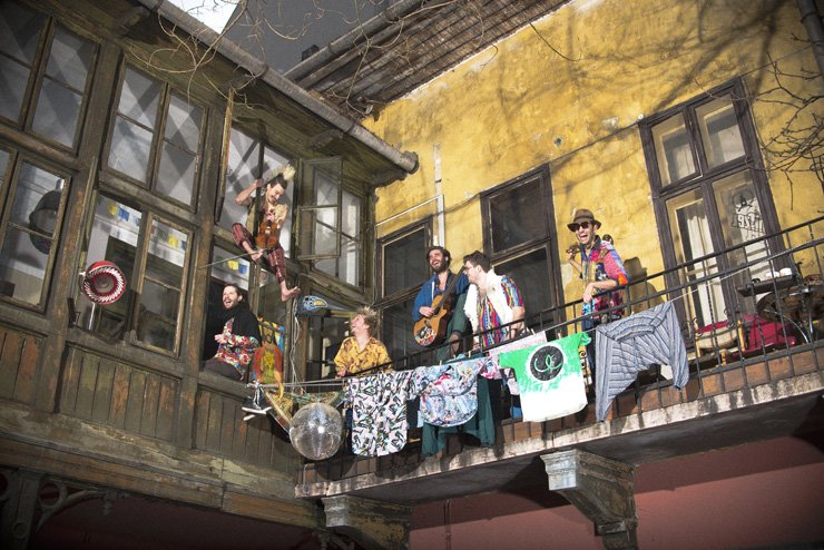 The Bohemian Betyars, a 'speed-folk freak-punk' band from Hungary, will perform for Zandari Festa at 8 p.m. Sunday in Rolling Hall.