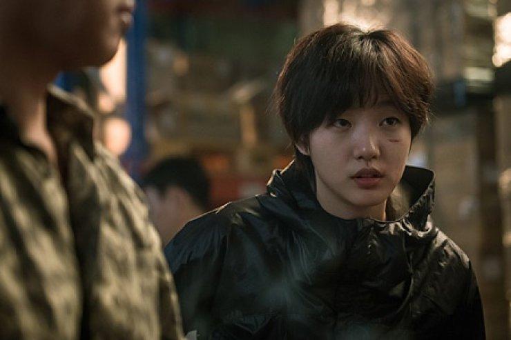 Kim Go-eun in a scene from 'Coin Locker Girl' / Courtesy of Naver