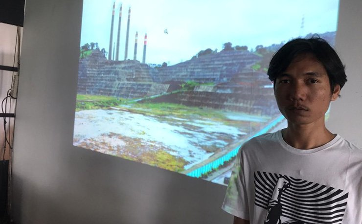 Wahyudin, one of the plaintiffs / Courtesy of Solutions for Our Climate