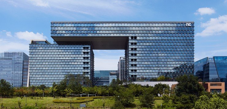 NCSOFT's headquarters' in Pangyo, Gyeonggi Province / Courtesy of NCSOFT