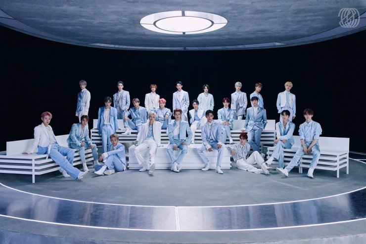 SM Entertainment's boy band NCT, which consists of 23 members / Courtesy of SM Entertainment