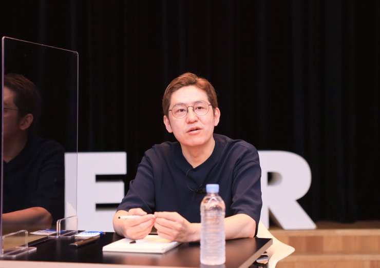 Kim Jun-koo, CEO and founder of Naver Webtoon / Courtesy of Naver