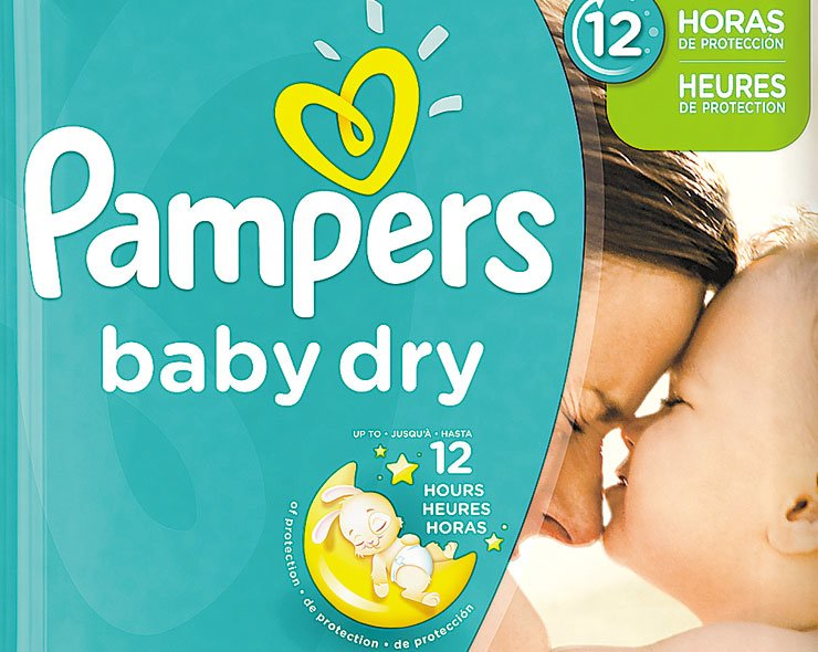 A Pampers baby dry diaper marketed by Procter & Gamble (P&G). / Courtesy of P&G Korea