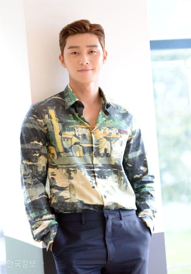 Actor Park Seo-joon / Korea Times file