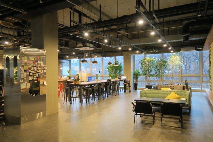 Design & Co-Innovation Center of SAP AppHaus Korea in Bundang, Gyeonggi Province  / Korea Times photo by Yun Suh-young