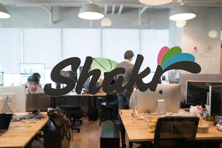 Shakr employees are seen working inside their office located in WeWork Gangnam. / Courtesy of Shakr