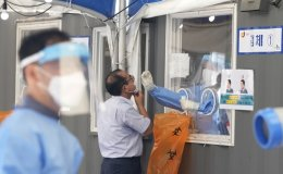 New virus cases in 1,300s for 2nd day
