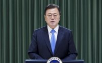 Moon's approval rating hits all-time low: poll