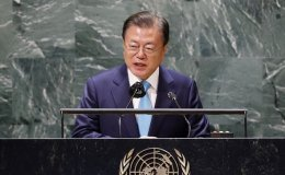 Moon says Korea will be steadfast partner for inclusive global cooperation for SDGs