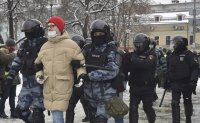 Russia arrests over 1,000 people demanding Navalny's release