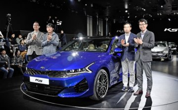 Kia seeks splash in sedan market with new K5