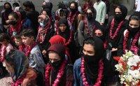 Afghan girls' football team flees to Pakistan