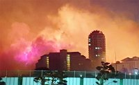 Thousands flee wildfire in South Korea's eastern coast