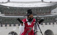Heaviest snowfall of the year arrived in Seoul [PHOTOS]