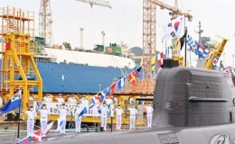 South Korea succeeds in testing ballistic missile launch from submarine