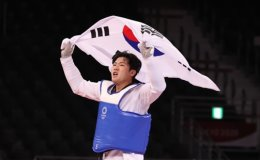 In Kyo-don wins bronze in men's taekwondo