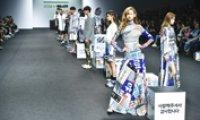 Baemin X Kye fashion show inspired by Hangeul