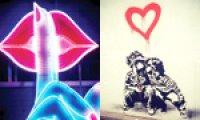 Art inspired by Valentine's Day