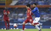 Liverpool held by Everton on resumed mission to seal title
