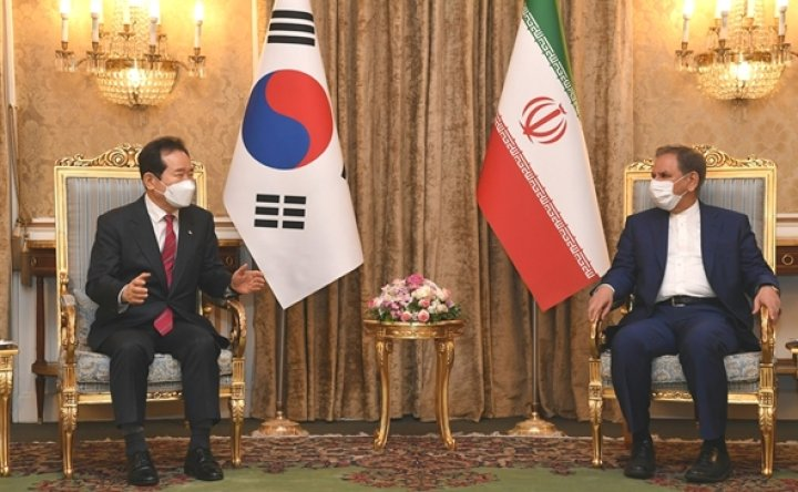 Iran openly expresses discontent over frozen assets in Korea