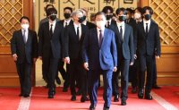President taps BTS as special envoy ahead of UN session next week