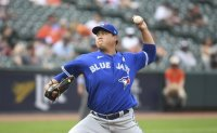 Blue Jays pitcher Ryu Hyun-jin beats Orioles for 1st win of June