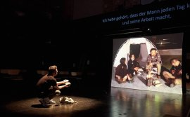 Korean, German artists to perform 'Borderline,' collaborative play on defector, refugee issues